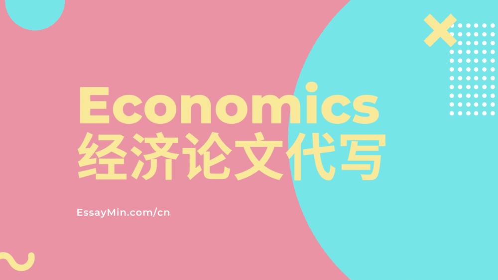 Economics经济论文代写