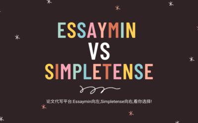 论文代写平台: Essaymin向左, Simpletense向右, 看你选择.